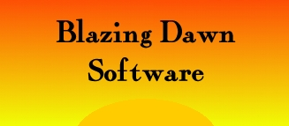 Blazing                 Dawn Software